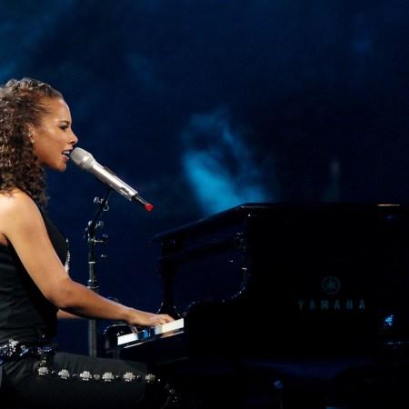 Alicia Keys in concert