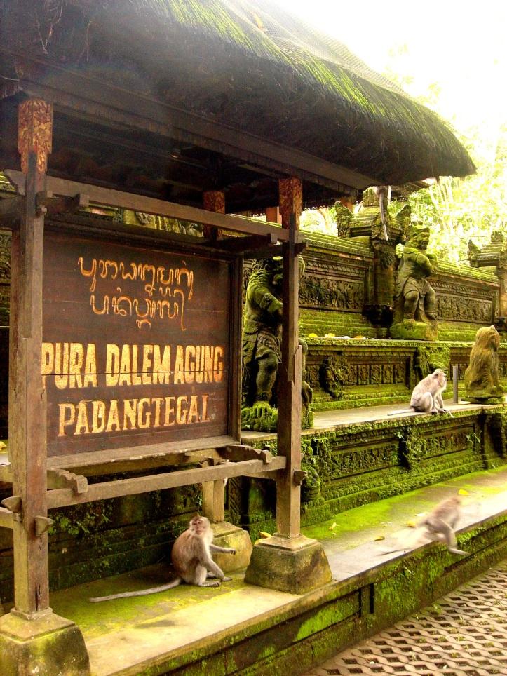 Pura Dalem Temple in Monkey Forest, Ubud