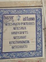 Azulejos in Alfama, Lisbon