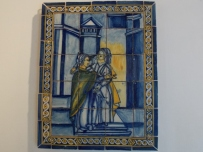 Azulejos art in Lisbon
