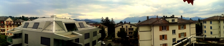 Panoramic Lausanne, Switzerland